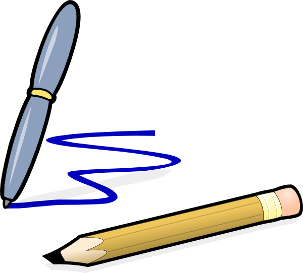 Pencil clipart break. The connection between and