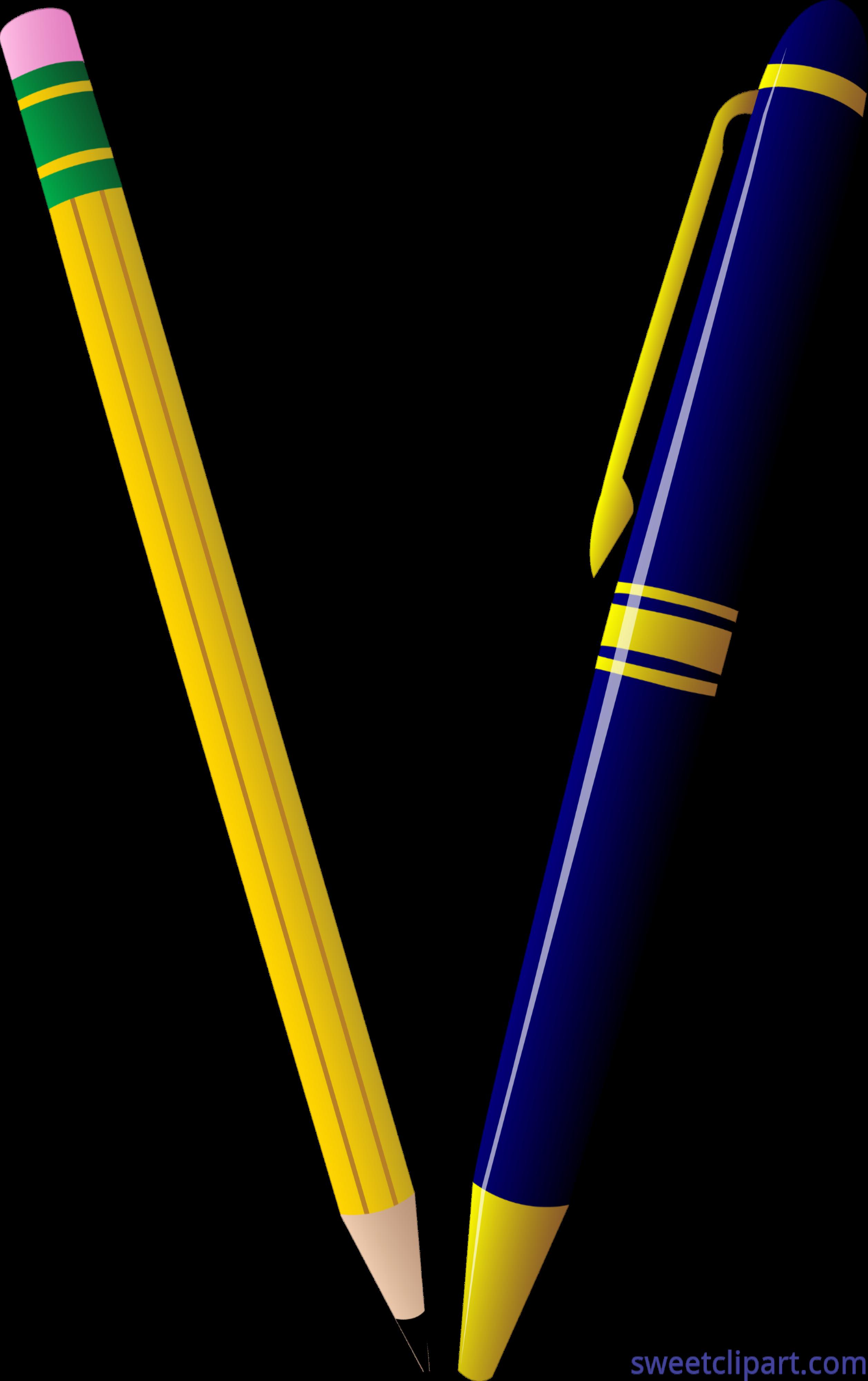 Clip art sweet. Clipart pencil pen