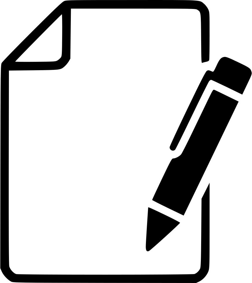 Paper svg png icon. Clipboard clipart pen