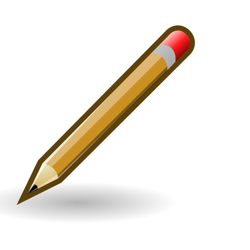 Pencil clipart calculator. Free stock photo illustration
