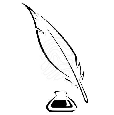 Feather clipart quill. Free cliparts download clip