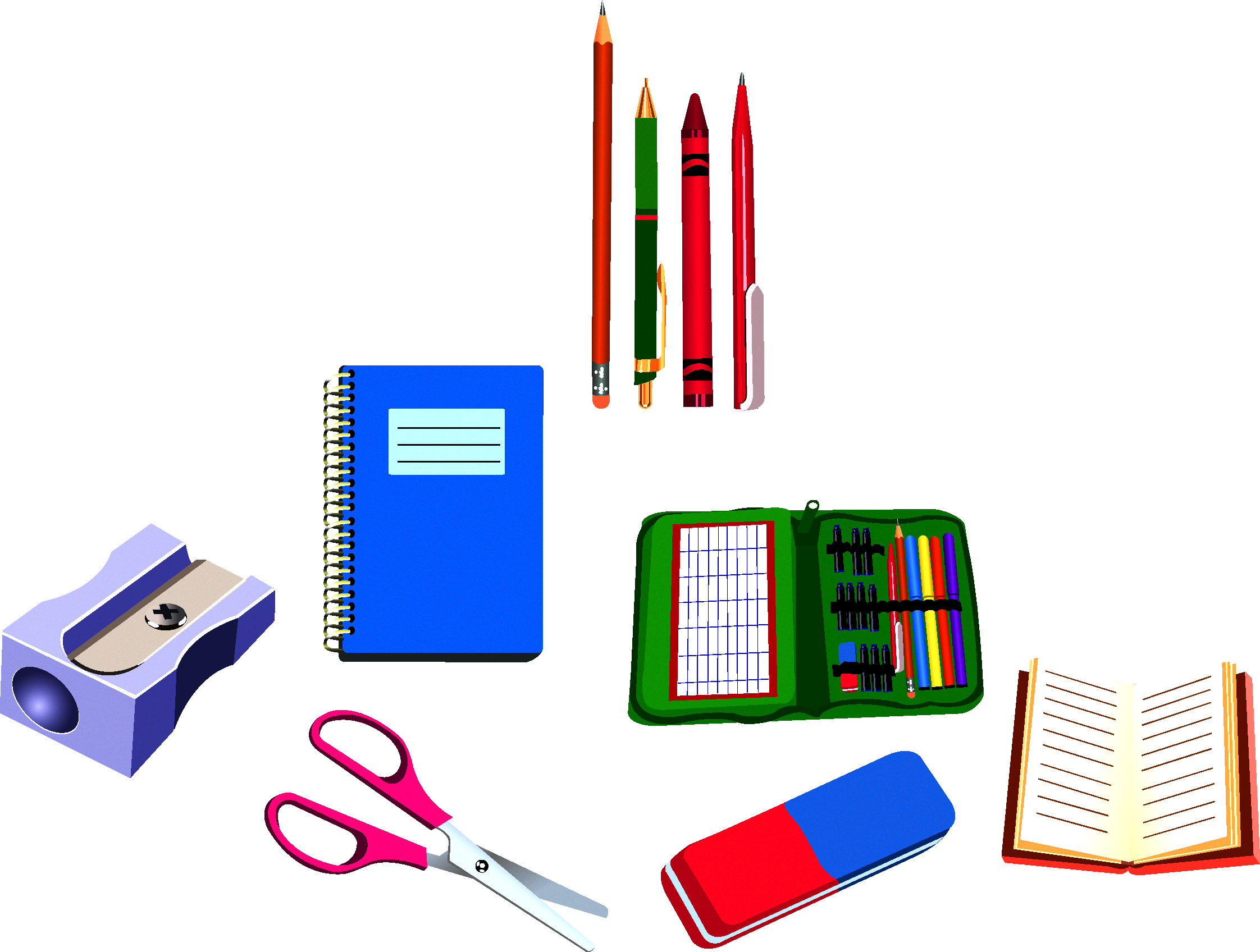 School supplies drawing clip. Electronics clipart personal thing