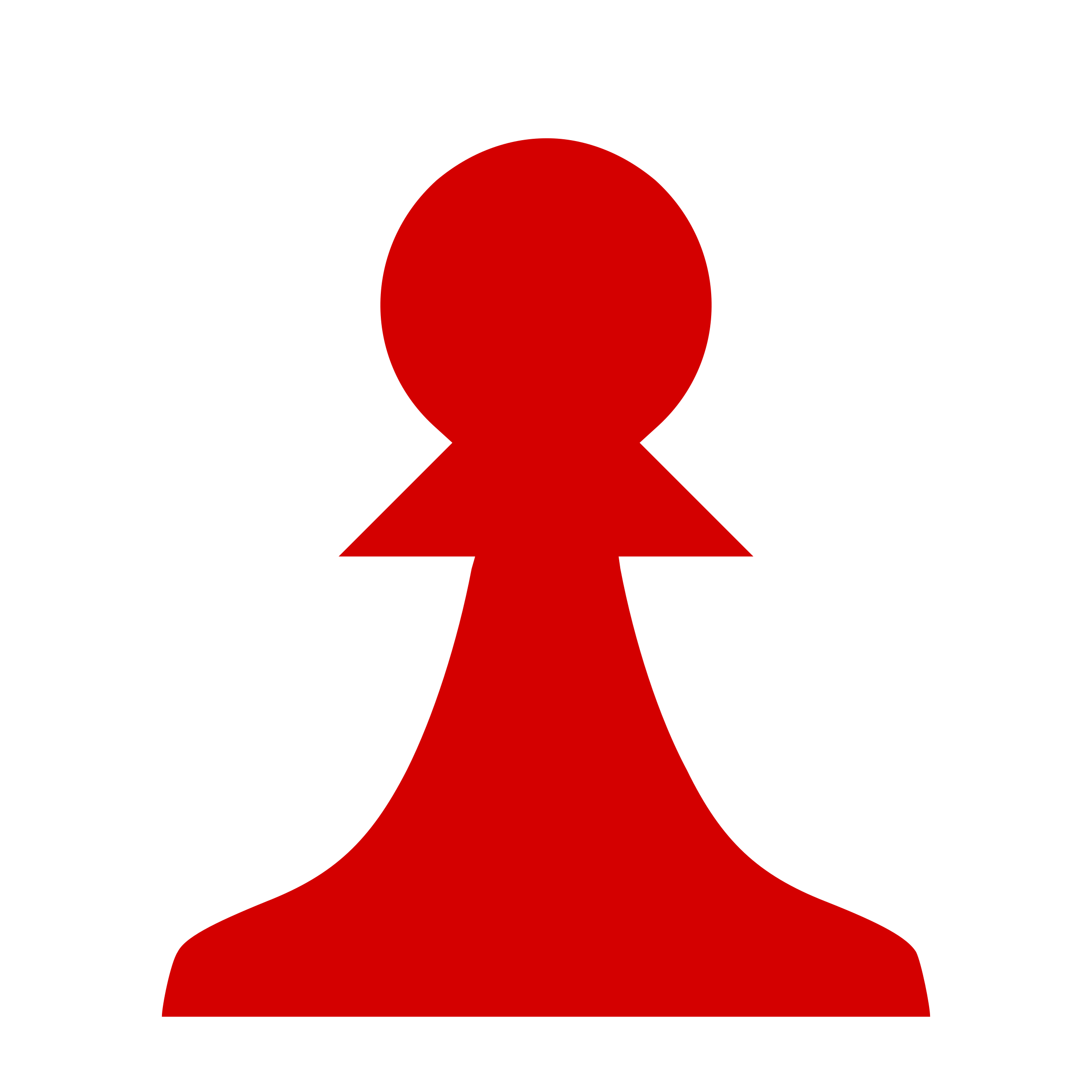 Clipart pen silhouette. Chess piece red pawn