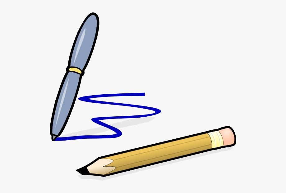 Clipart pencil pen. Original png clip art