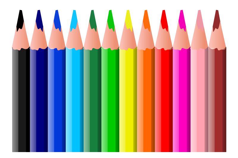 Pencil at getdrawings com. Crayons clipart horizontal