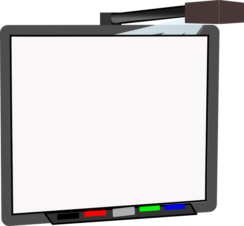 White board image group. Markers clipart whiteboard pen