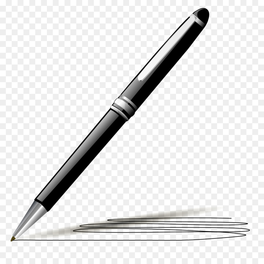 Pen clipart writer pen. Writing cartoon paper transparent