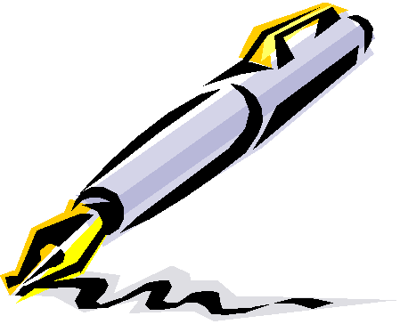 Writing free download best. Writer clipart pen