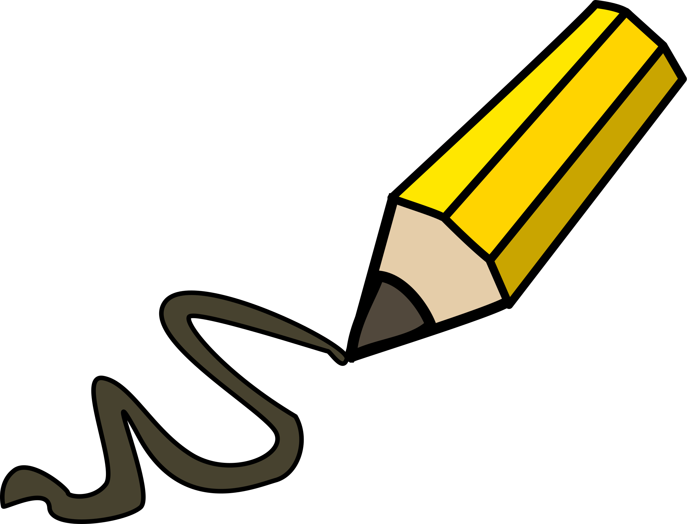 Pencil Clipart at GetDrawings