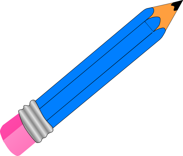 Clipart pen horizontal. Pencil clip art at