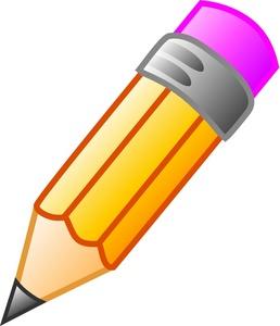 Large . Clipart pencil