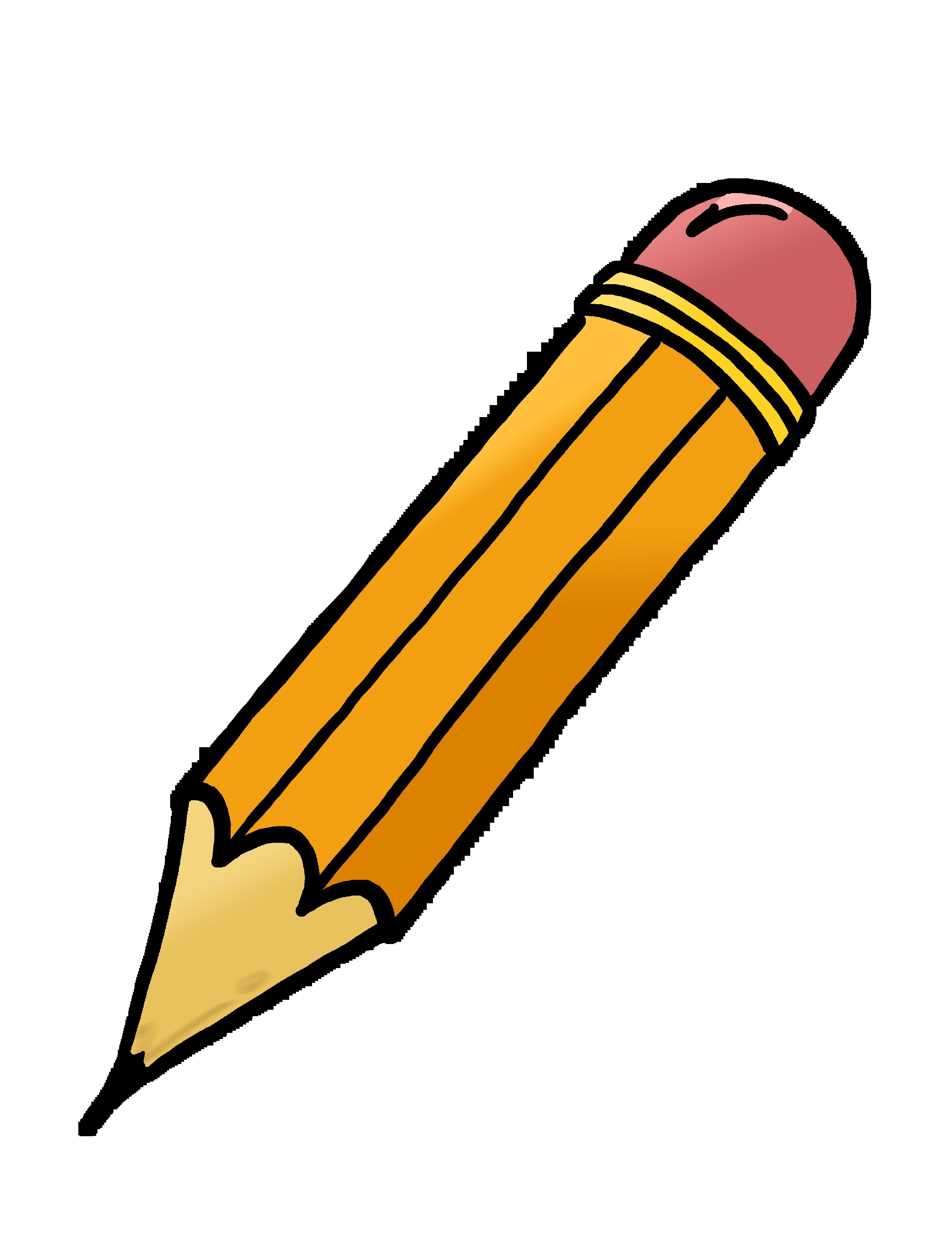 Clipart pencil. Animation incep imagine ex