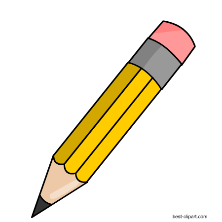 Free pencil clip art. Pencils clipart