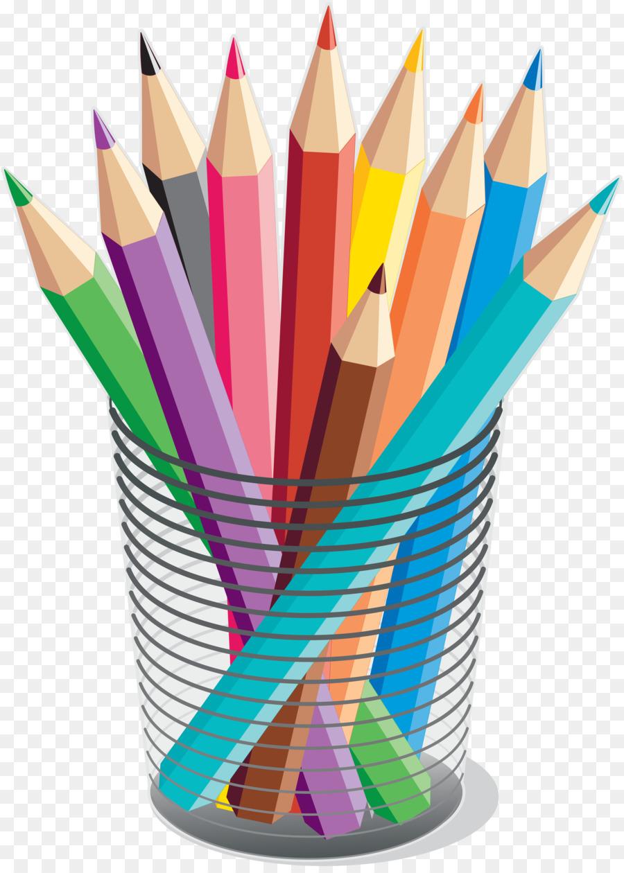 Pencil clipart art supply. Cartoon drawing illustration