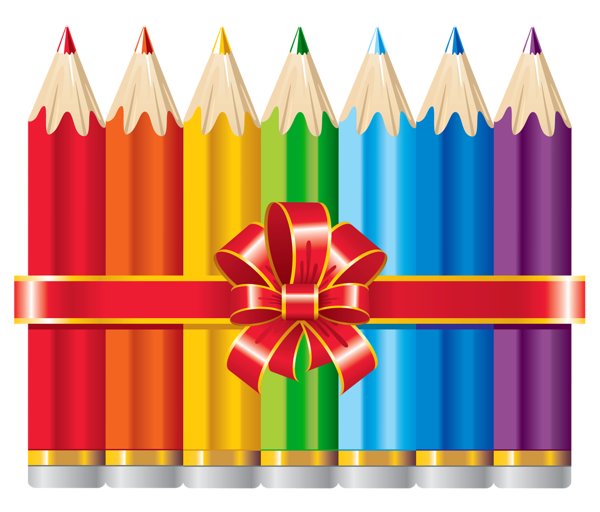 Clipart pencil art supply. School pencils png picture