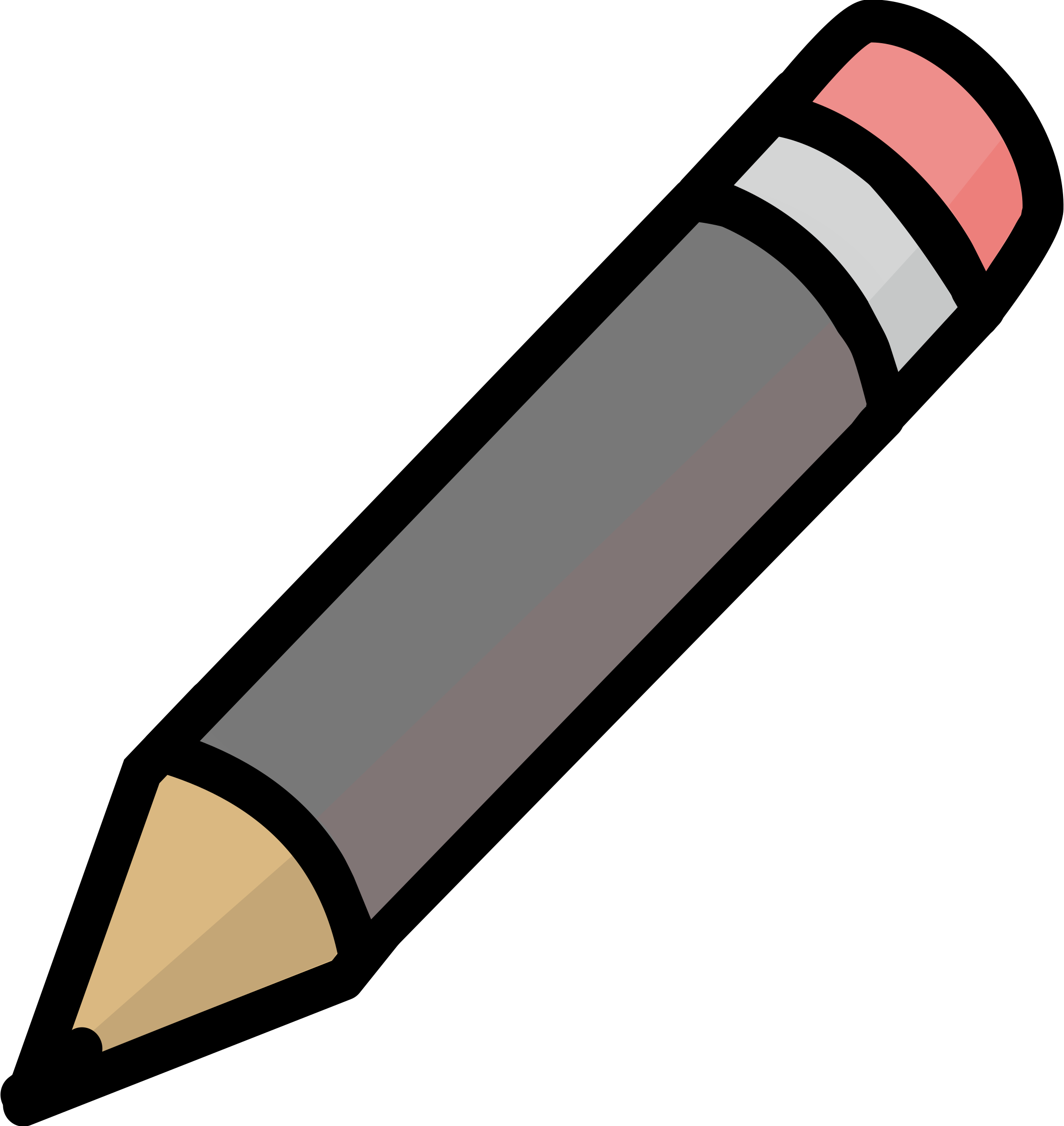 Pencil clipart bin. Gray icon icons png