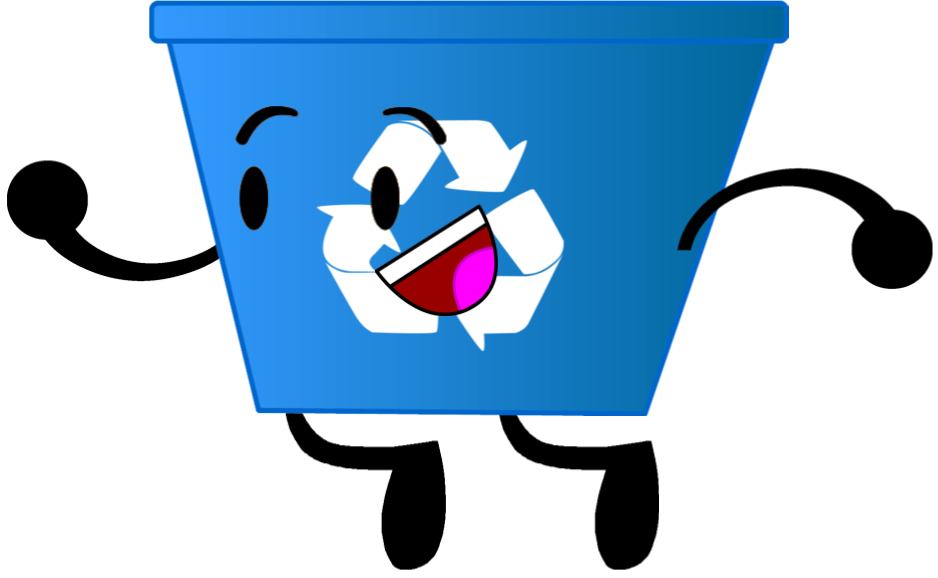 Pencil clipart bin. Recycling when objects work