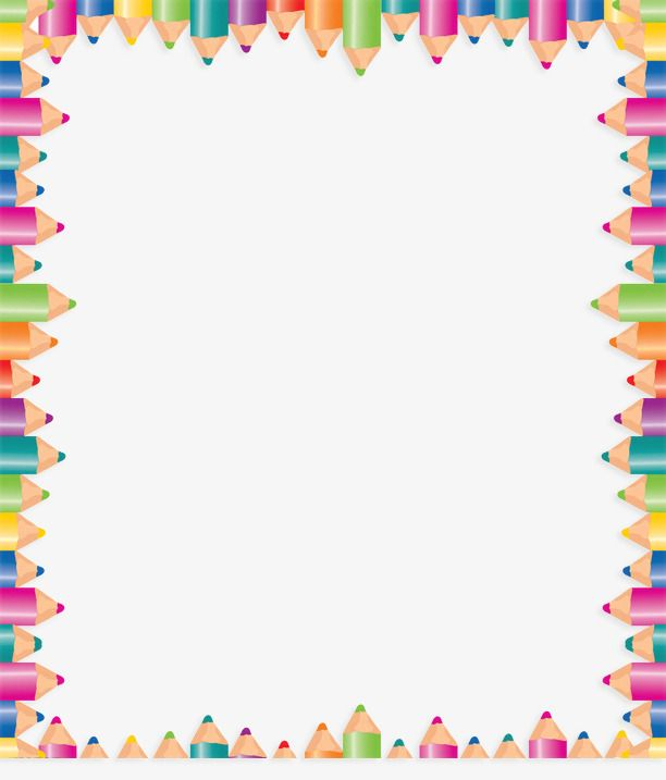 Clipart pencil boarder. Millions of png images