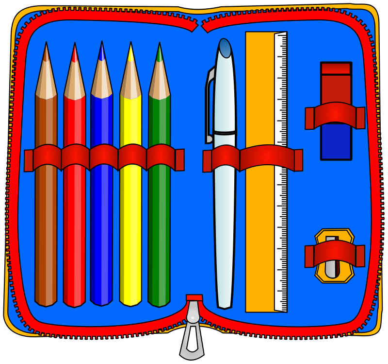 Case free . Clipart pencil boy