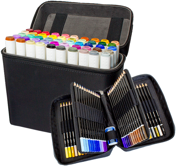Colorit ultimate duo dual. Markers clipart coloured pen