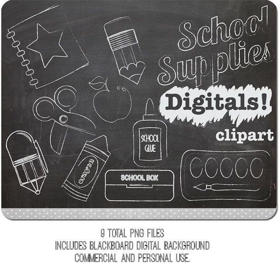 Pencil clipart chalkboard. Chalk clip art school