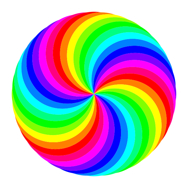 Colored drawing clip art. Clipart pencil circle