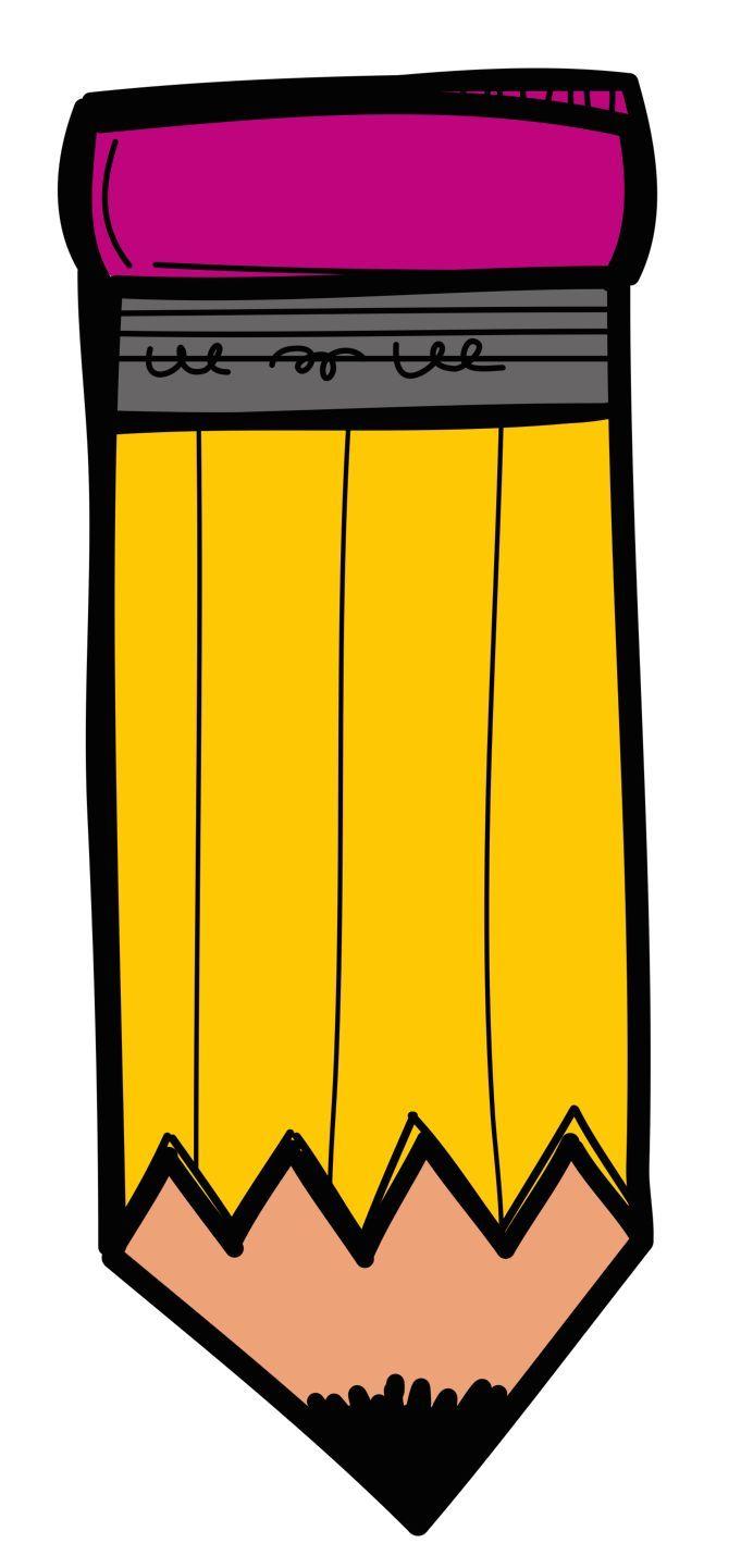 Crayon clipart school day. Free melonheadz pencil cliparts