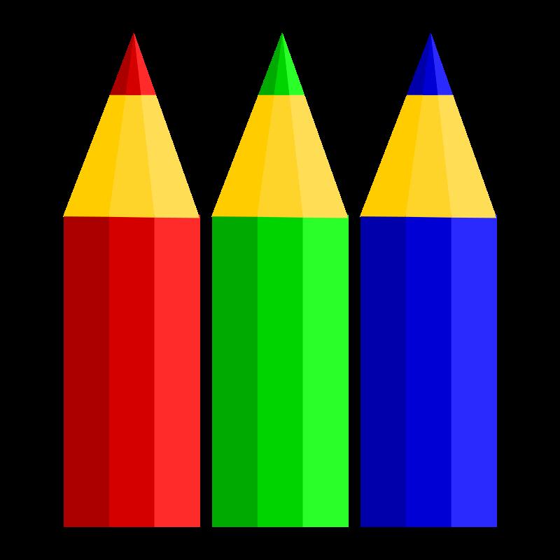 Pencil clipart colouring pencil. Pencils medium image png