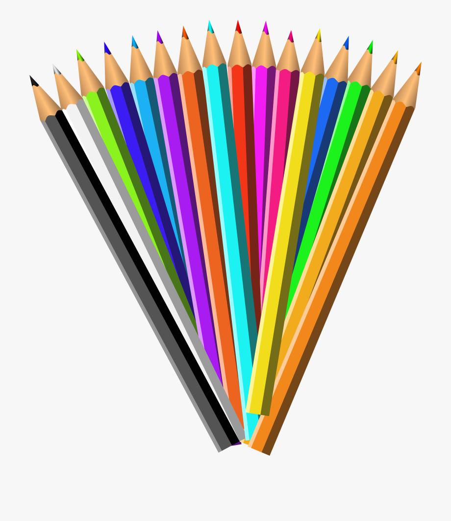 Pencil clipart colouring pencil. Clip art free library