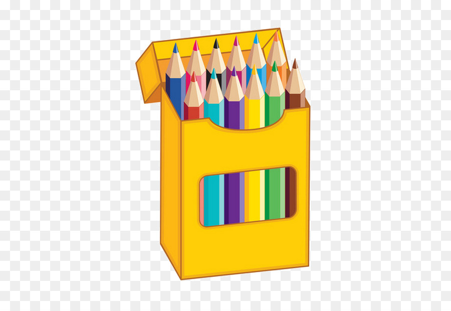 Illustration color . Pencil clipart colouring pencil