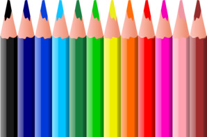 Pencils clip art pictures. Clipart pencil colored pencil