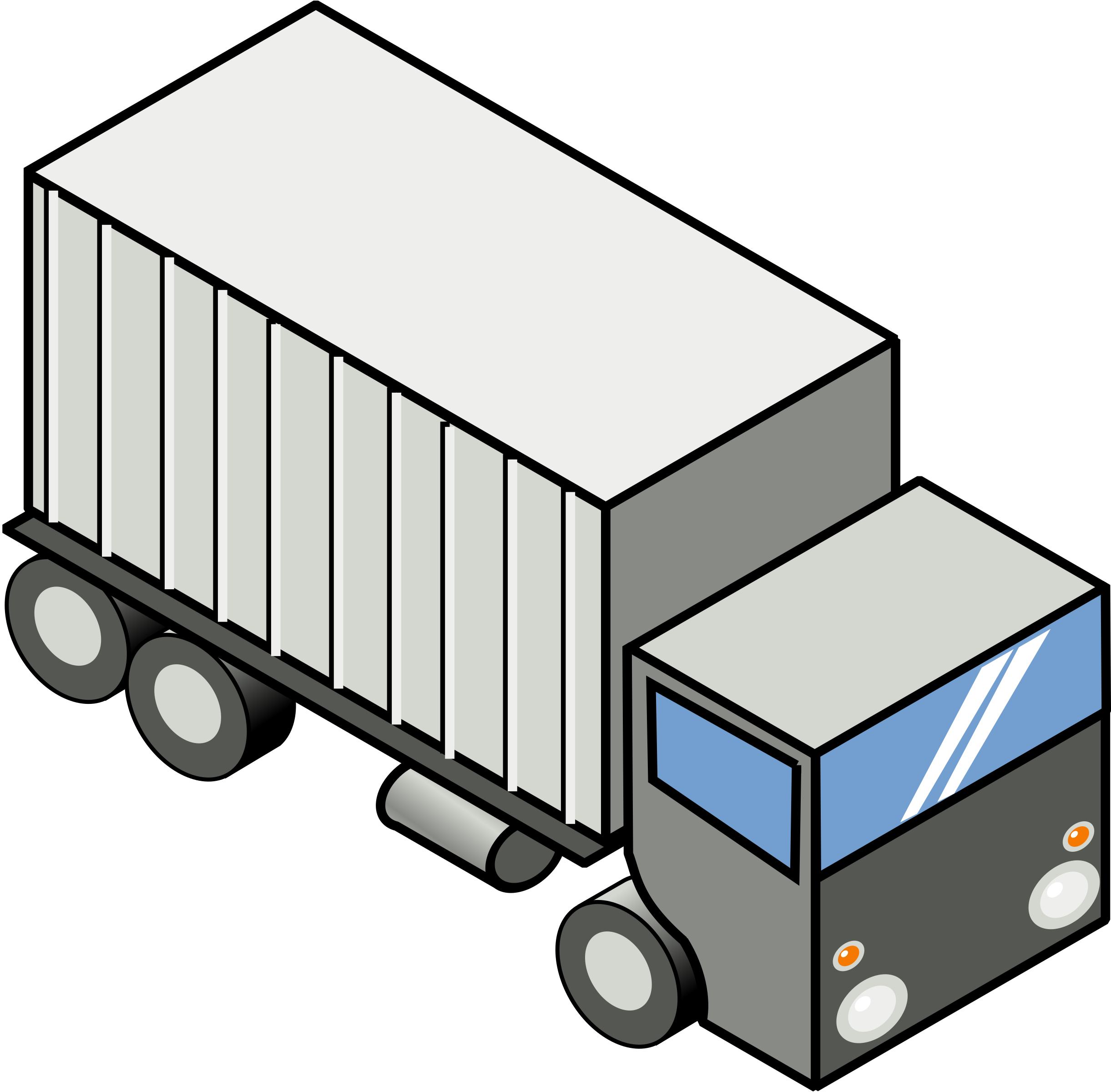 Clipart world logistics. Group iso truck