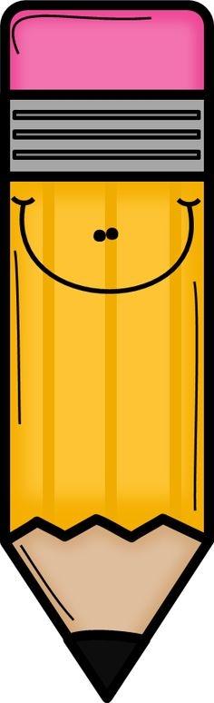 Clipart pencil cute. Free cliparts download clip