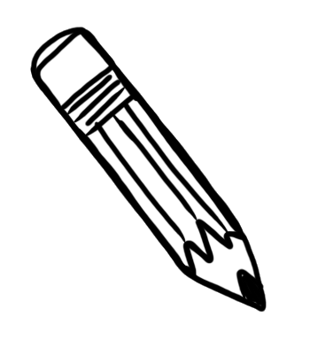 Pencil clipart doodle. Images gallery for free
