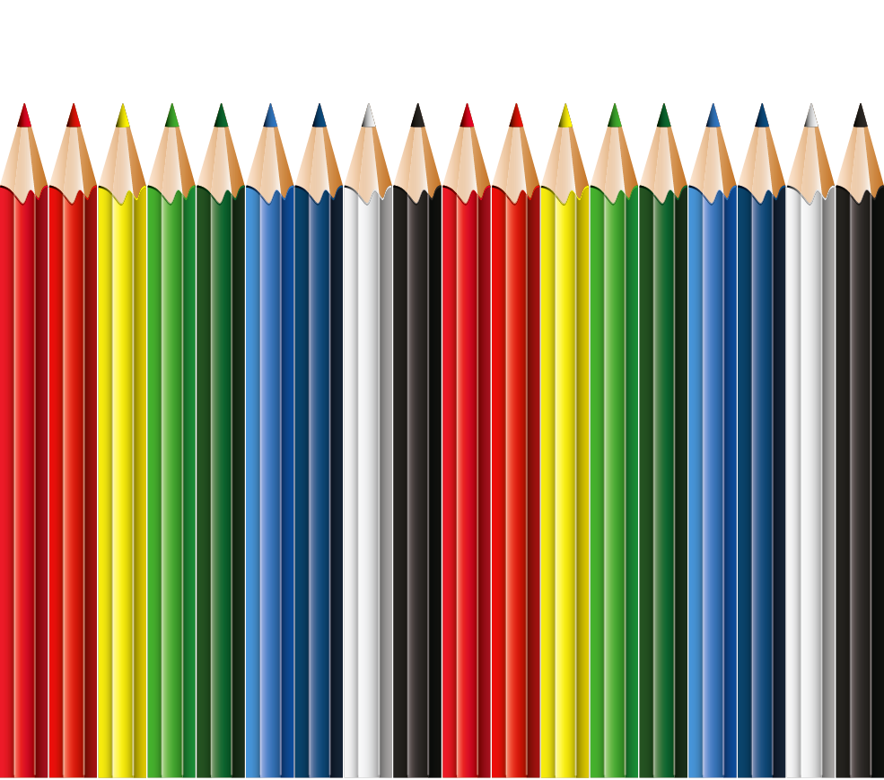 I blackwing colored school. Clipart pencil education