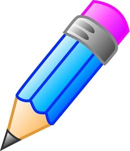 Blue panda free . Clipart pencil education