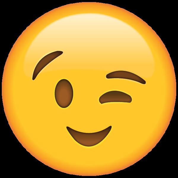collection of winking. Emoji clipart teacher