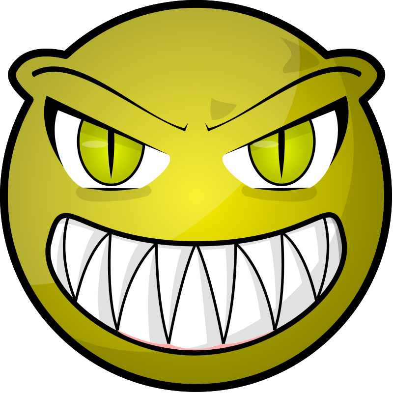 collection of scared. Clipart pencil face