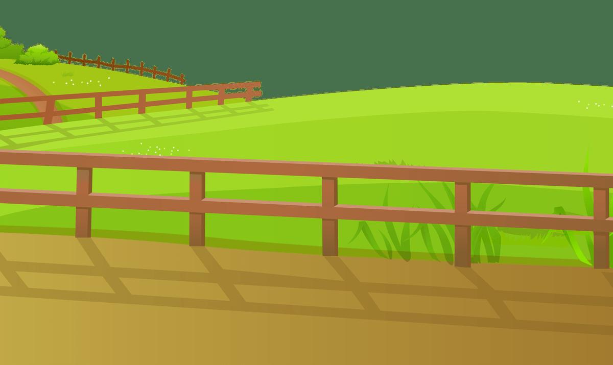 Horizontal wood clip art. Fencing clipart farm fence