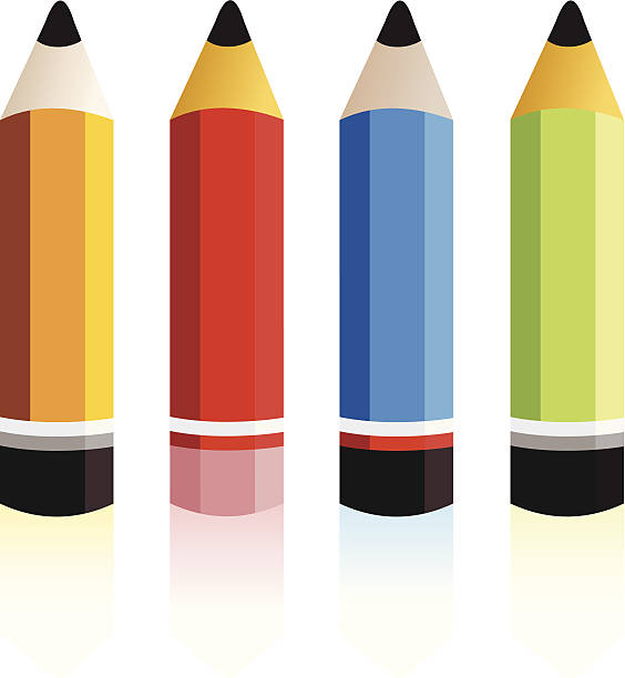 Clipart pencil four. Pics free download best