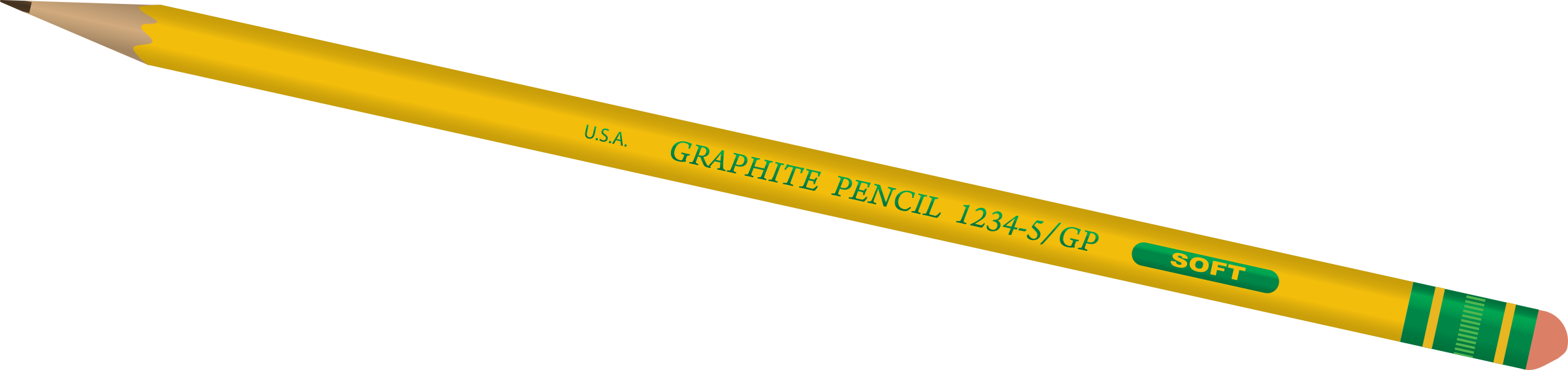 Clipart pencil four. Hd png transparent images