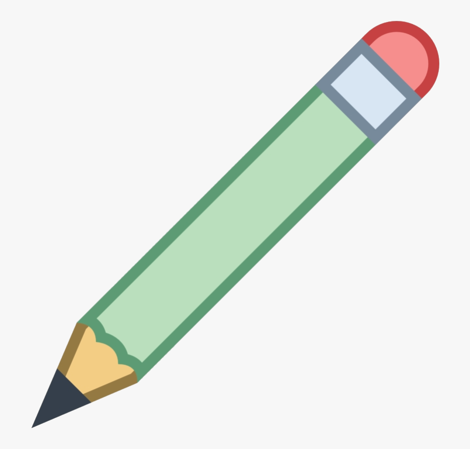 Icon transparent x free. Clipart pencil four