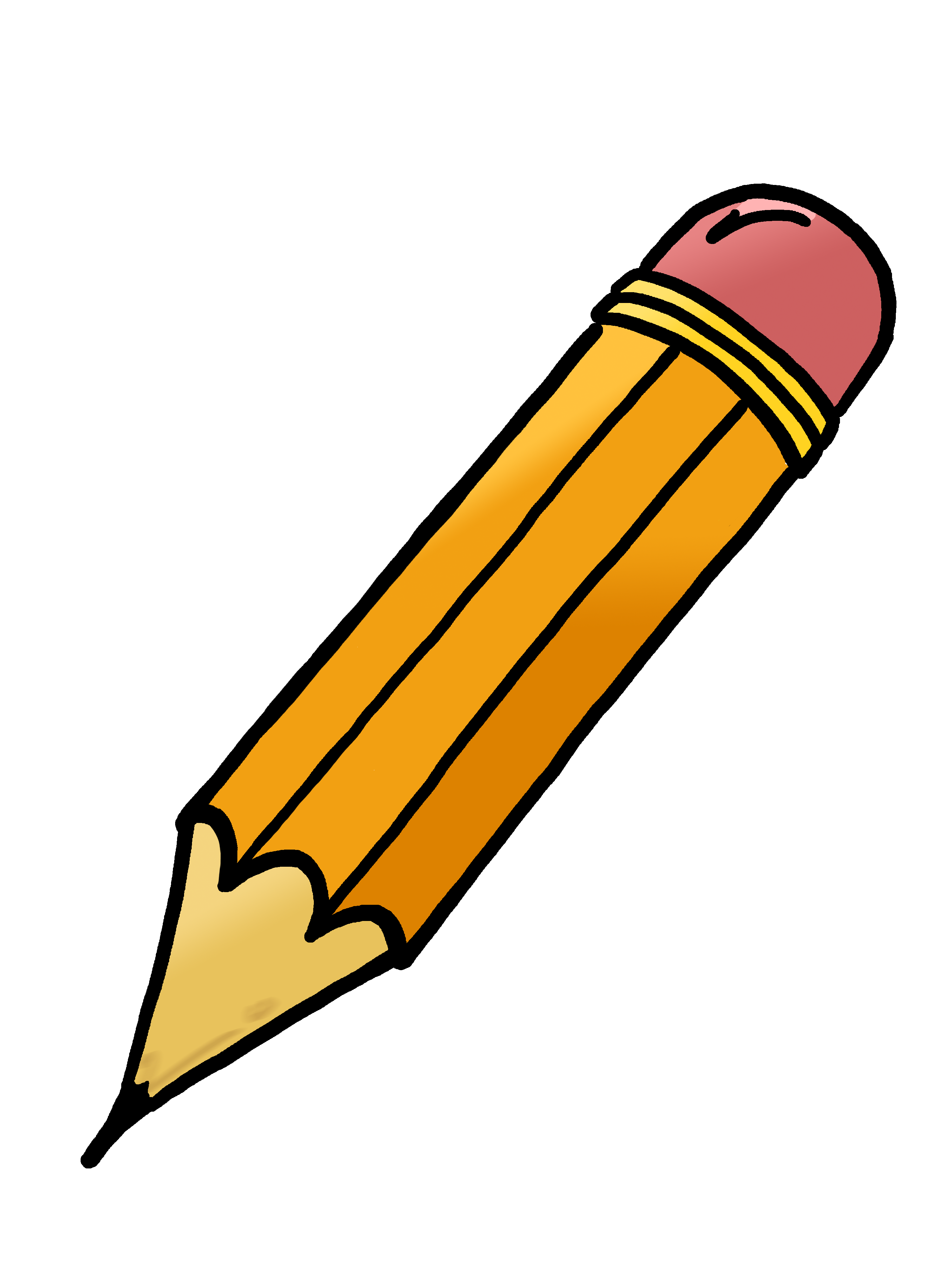 Pencil clipart logo. Basic clip art panda