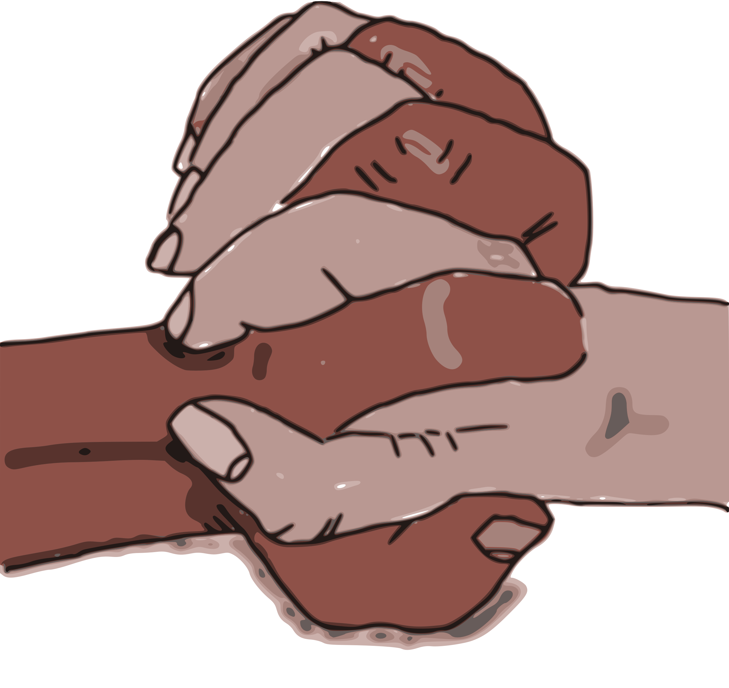 Culture tolerance and in. Clipart pencil hand