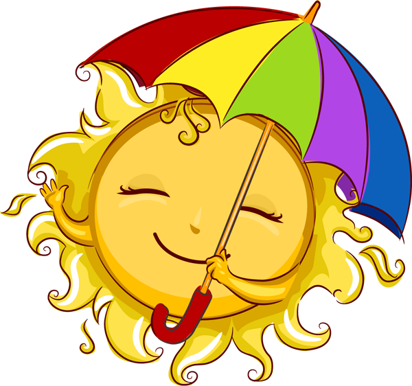 Clipart sun august. Homework cute pencil and