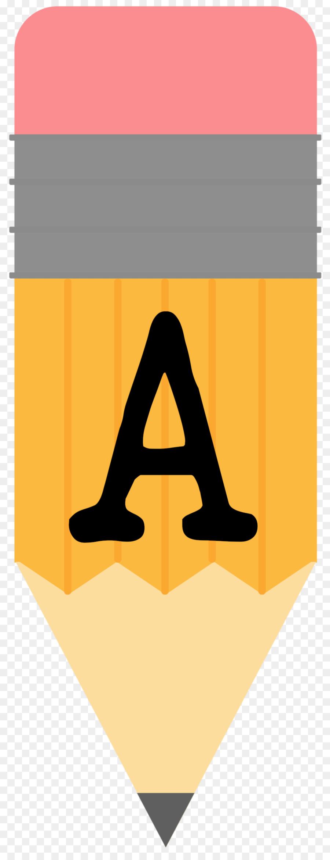 Pencil clipart letter. Paper transparent