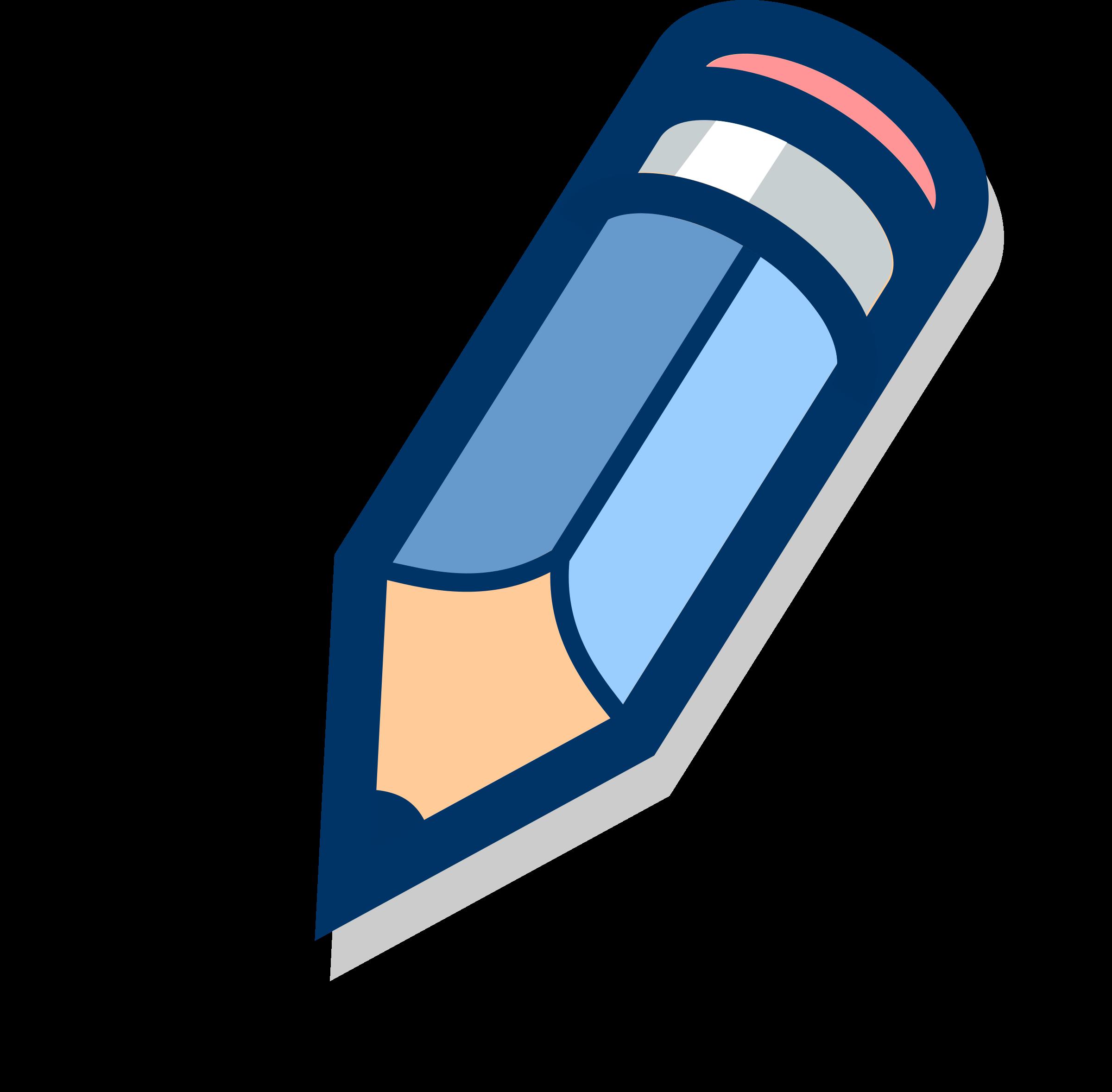 Big image png. Clipart pencil logo