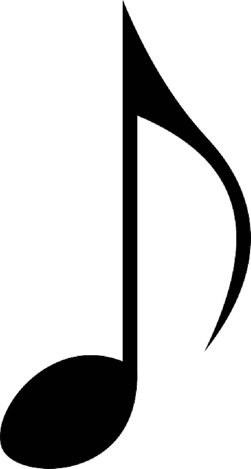 Symbol musical notes pencil. Coloring clipart music