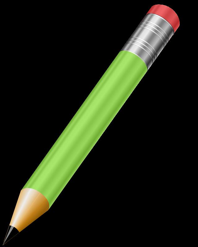 Clipart pencil pad. Free stock photo illustration