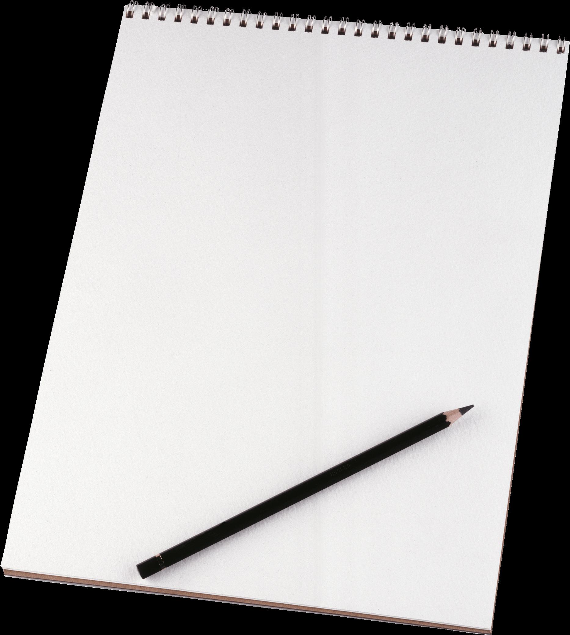 Notebook clipart notebook sheet. Paper pencil transparent png